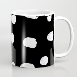 Edges of Black and White Coffee Mug