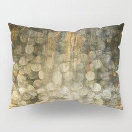 """Abstract golden river pebbles"" Pillow Sham"