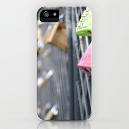 Locks of Love iPhone Case