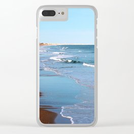 Topsail Beachfront Clear iPhone Case