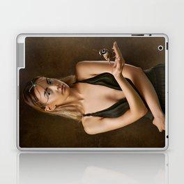 Girl with a Bird Laptop & iPad Skin