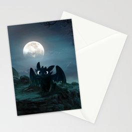 TOOTHLESS halloween Stationery Cards
