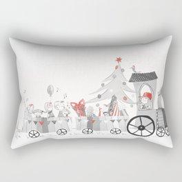 Magic Christmas Rectangular Pillow