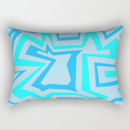 Ice Banded - Coral Reef Series 009 Rectangular Pillow