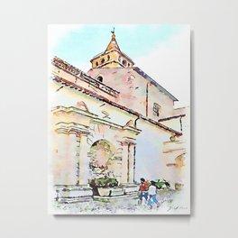 Tivoli: convent building Metal Print