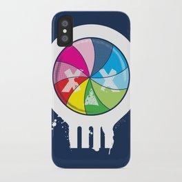 Pinwheel of Death iPhone Case