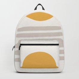 Minimal Desert Heat Backpack