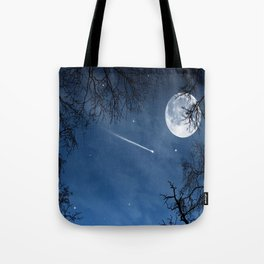 Wandering in the twilight Tote Bag
