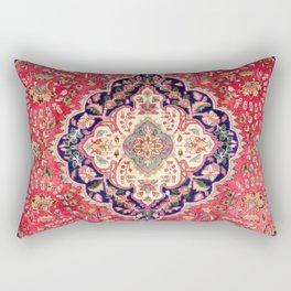 Tabriz Antique Persian Rug Print Rectangular Pillow
