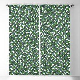 EMERALD GREEN LEAF Blackout Curtain