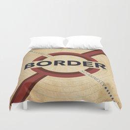 Secure The Border Duvet Cover