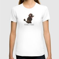 poodle T-shirts featuring Poodle by 52 Dogs