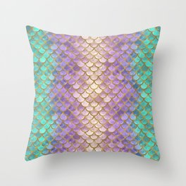 Scales 04 Throw Pillow