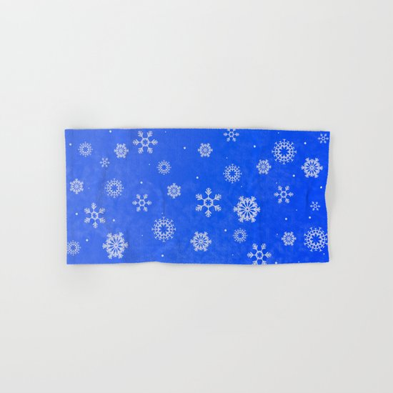 Snow Hand & Bath Towel