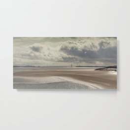 River Severn Sandbanks Metal Print