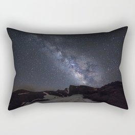 Milkyway at the mountains. Scorpius and Sagitarius Rectangular Pillow