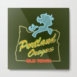 MLP PDX Metal Print