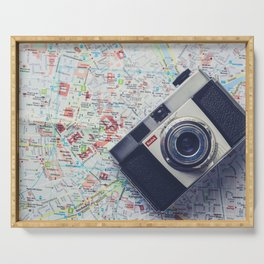 Travel & Photography Serving Tray