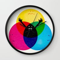 child Wall Clocks featuring Nobody's child by Robert Farkas