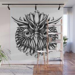 Crystal Owl Wall Mural