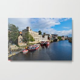 York City Guildhall and river Ouse Metal Print