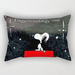 Snoopy Sky Rectangular Pillow