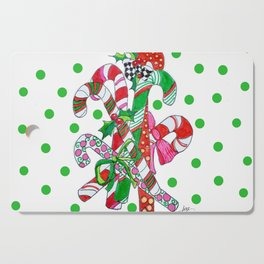 Candy Cane Party Cutting Board