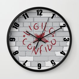 Vigilo Graffito Wall Clock
