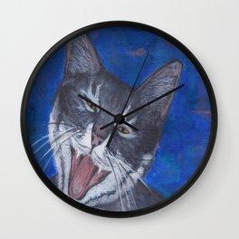 Happy Cat - Gracie Wall Clock