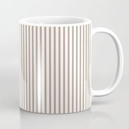 Warm Taupe Stripes Coffee Mug