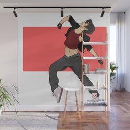 Keith dance au Wall Mural