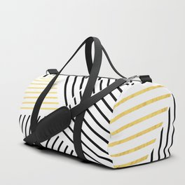 A Linear White Gold New Duffle Bag