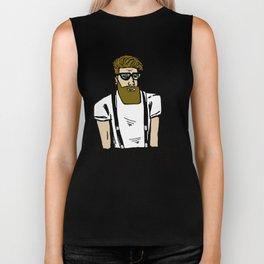 Hipster icon Biker Tank