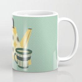 Mid Century Tea Time - Variation #3 Coffee Mug