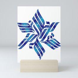 Star Of David Jew Or Religious Leader Gift Mini Art Print