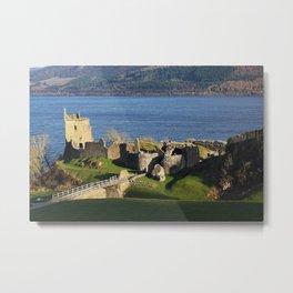 Urquhart Castle - Scotland Metal Print