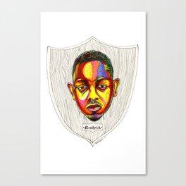 "Kendrick Lamar Artwork - ""Rigamortis"" Canvas Print"