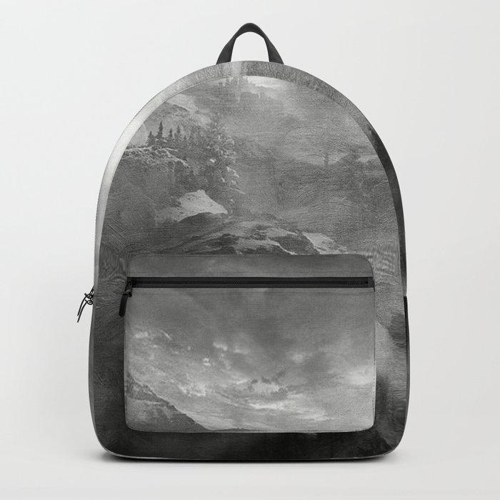 B&W - Wish You Were Here (Chapter I) Backpack