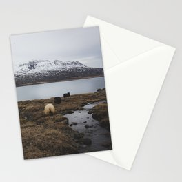 Sheep in Iceland Stationery Cards
