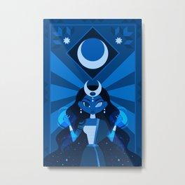 Mayari: The Philippine Moon Goddess Metal Print