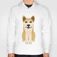 vector Hoodies featuring Shiba dog vector by TIERRAdesigner