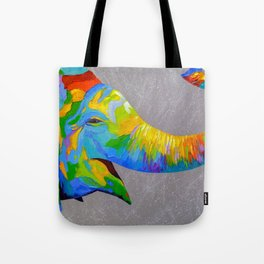 Smiling elephant Tote Bag