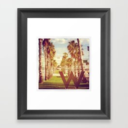 Barcelone Hotel W 2 Framed Art Print