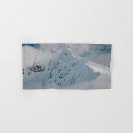 White peak - Landscape and Nature Photography Hand & Bath Towel