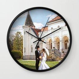Love in castle Wall Clock