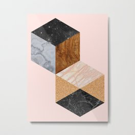 Tesselation 01 Metal Print