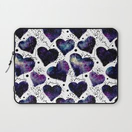 Galaxy Heart Pattern 02 Laptop Sleeve