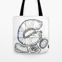 From Simplicity 2 Complexity series - Mitochondria Connections Tote Bag
