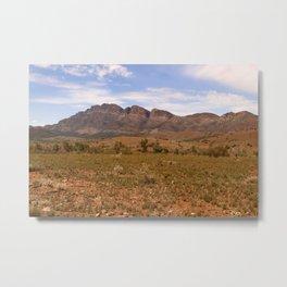 The Flinders Ranges Australia Metal Print