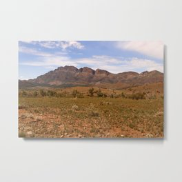 The Flinders Ranges Australia Metal Print